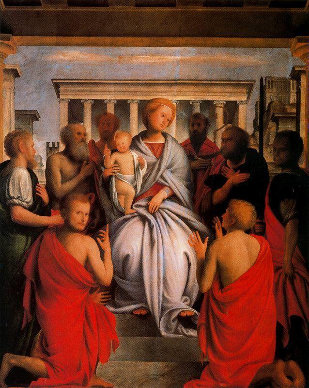 Madonna e Santi (Uffizi)