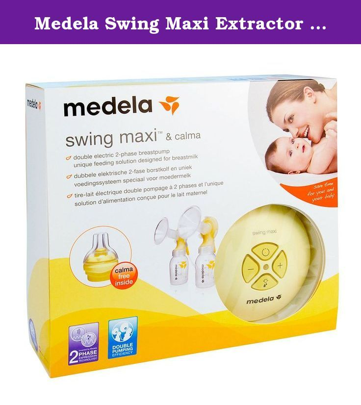medela swing maxi extractor and calm bottle the medela swing maxi extractor allows the extraction