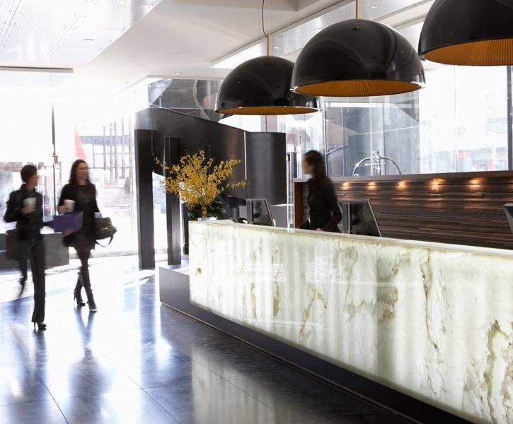 LEMAYMICHAUD GERMAIN Calgary Architecture Design Hospitality Hotel Reception