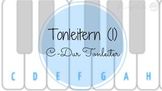 Musiktheorie - Tonleitern (1) C-Dur Tonleiter | PianoTube                                                                                                                                                                                 Mehr