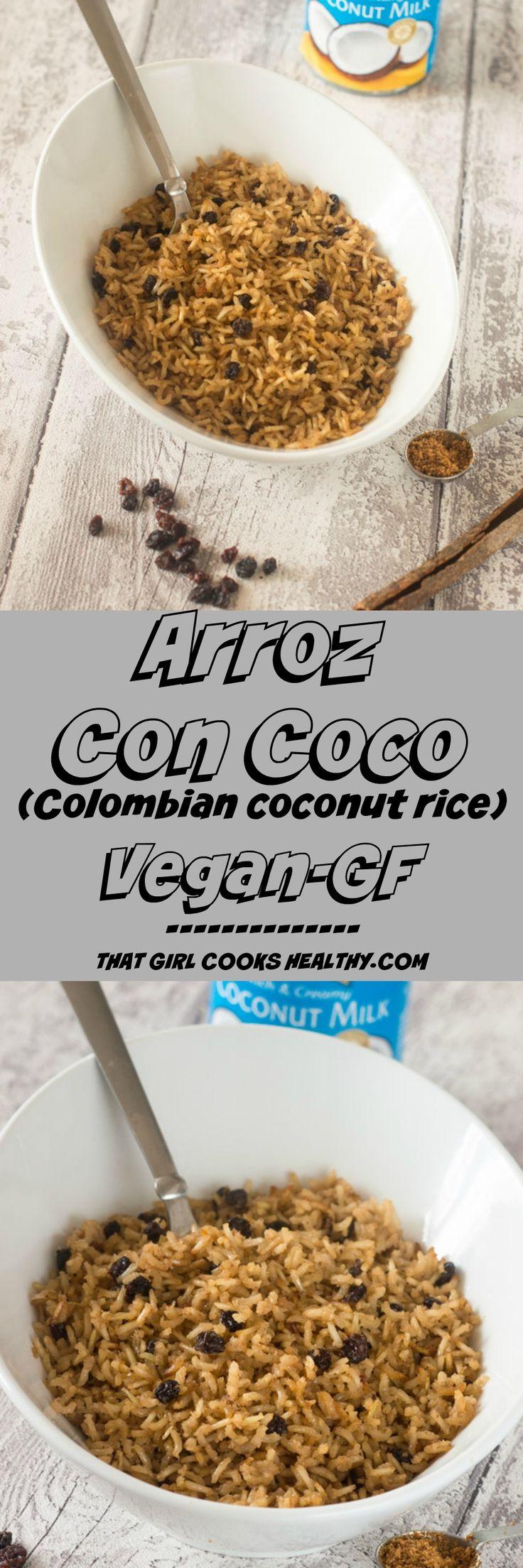 Arroz-con-coco - colombian coconut rice (vegan and gluten free)
