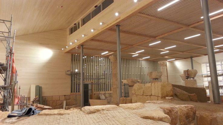 """New project for the Basilica of the Memorial of Moses"""" - Mount Nebo - Jordan by Ivano Bressan. This is an archaeological site of priceless historical value, in which mosaics are to be protected and preserved. 