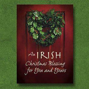 Irish Christmas Blessing.Irish Christmas Blessing Getty