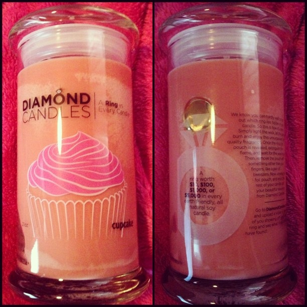 Cupcake candles are so yummy for the foodie hidden within.
