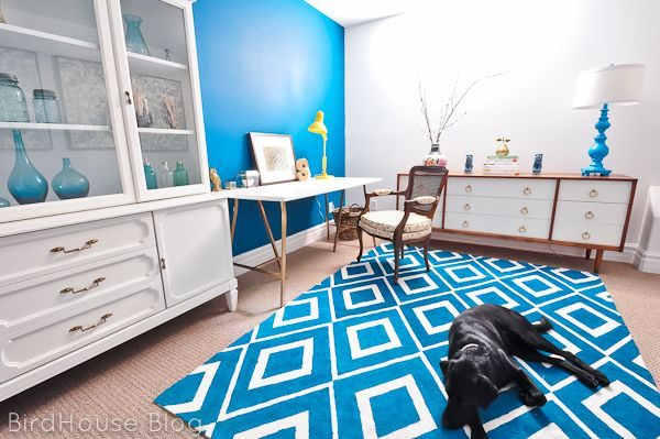 How to paint a rug.....on my to do list.  Home Stories A 2 Z. 17 painted rug tutorials