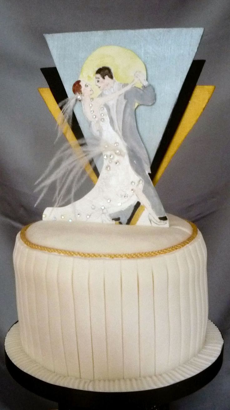 Deco Art Cake Mexicali : 49 best images about 1920s cakes on Pinterest Birthday ...