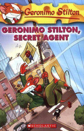 Geronimo Stilton, Secret Agent (Geronimo Stilton, No. 34) by Geronimo Stilton. $6.99. Reading level: Ages 7 and up. Author: Geronimo Stilton. Publication: July 1, 2008. Publisher: Scholastic (July 1, 2008)