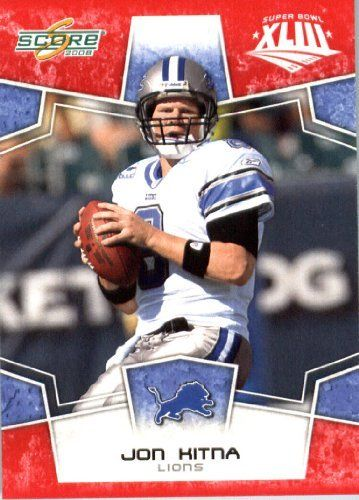 2008 Score Red SuperBowl Edition Football Card (only 2400 made) - #97 Jon Kitna QB - Detroit Lions by Topps Update. $0.99. 2008 Score Red SuperBowl Edition Football Card (only 2400 made) - #97 Jon Kitna QB - Detroit Lions