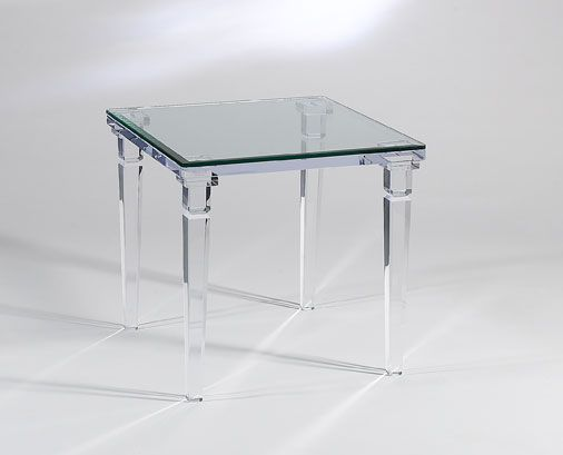 Beautiful Chateau End Table By Leading Acrylic Furniture Manufacturers   Sharooz Art. We Also Deal In Acrylic Coffee Tables.