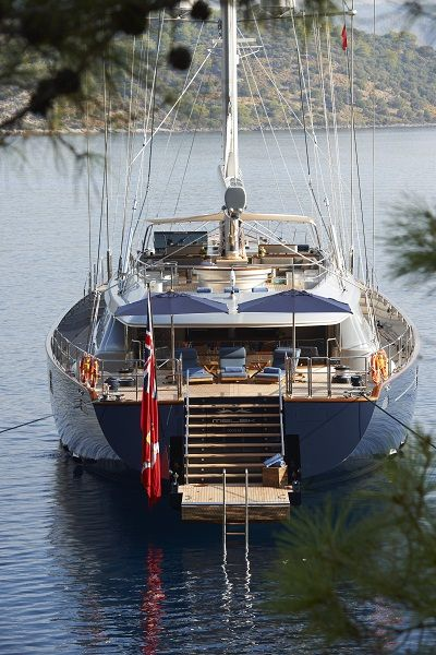 Sailing Yacht - Melek - Perini Navi - Completed Superyachts on Superyacht Times .com