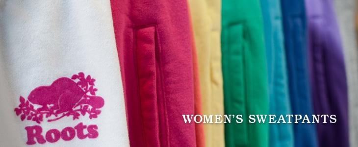 Shop Sweatpants for Women | Roots love these colours!