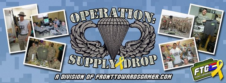 Rize Up Gaming's 24h Charity Marathon for Operation Supply Drop