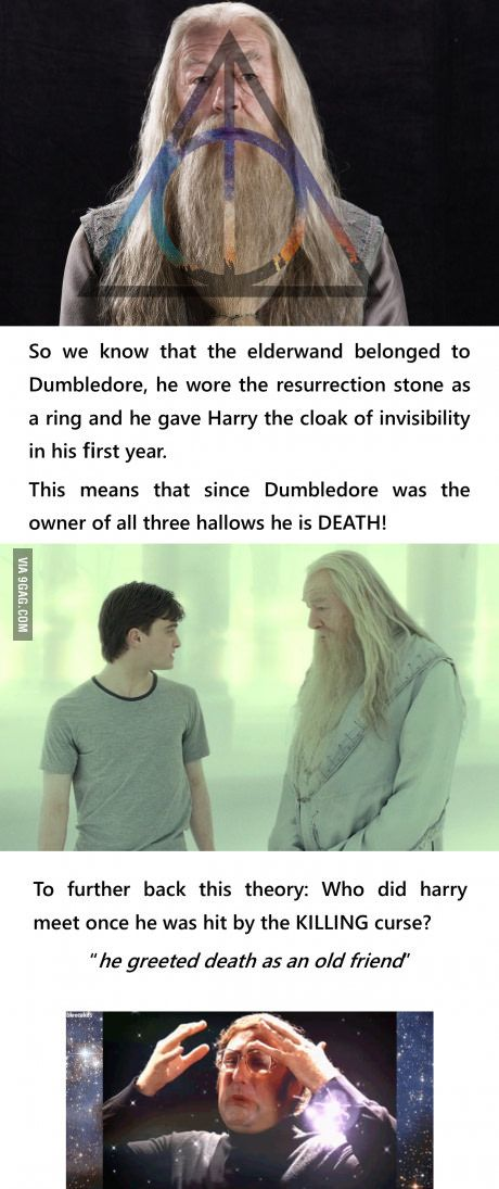 To all you Potter fans out there I really like that theory!
