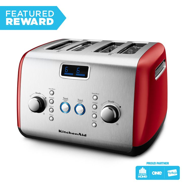 KitchenAid Artisan 4 Slice Toaster #flybuysnz #1560points #OFHNZ this is one fancy toaster