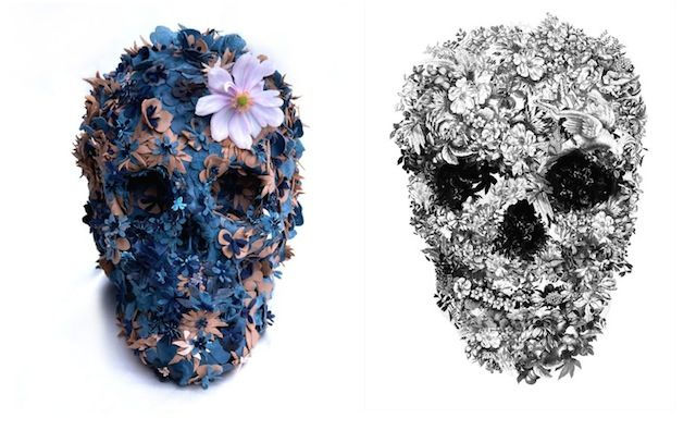 Skulls Artwork by Jacky Tsai – Fubiz™