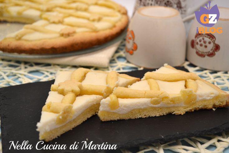 Crostata con crema limone e ricotta, ricetta dolce