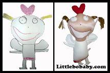 angel doll plush toy