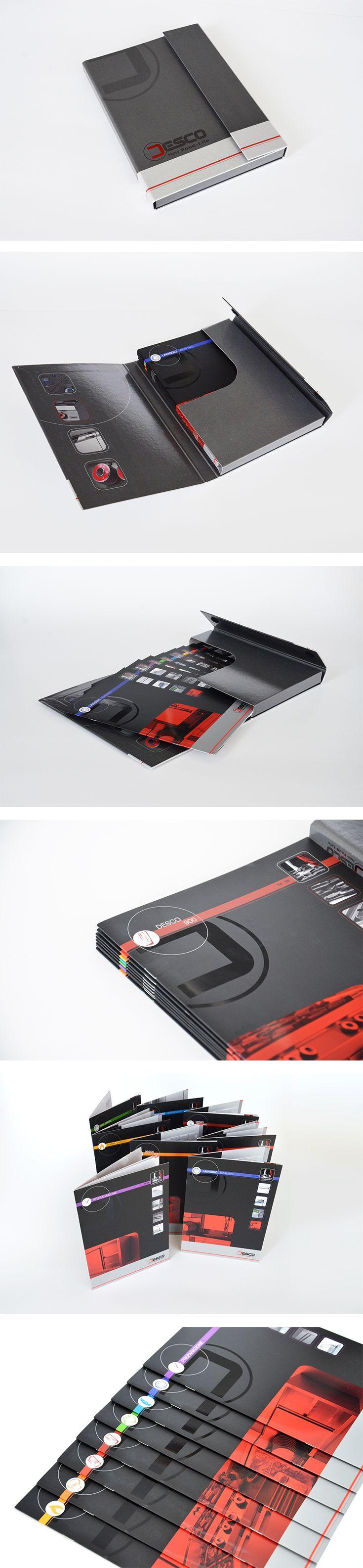 Desco cataloghi, un progetto #effADV - Desco #printing, effADV project - #catalogue #packaging