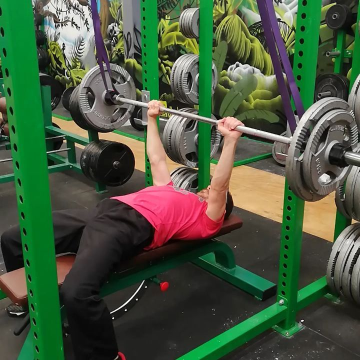 Watch The Best Youtube Videos Online Reverse Bands Help With The Lock Out And Top Half Of The Bench Press If Stru Injury Prevention Bench Press Powerlifting