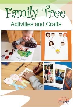 Fun Family Tree Activity Ideas From The Our Time To Learn Blog And Workbook For