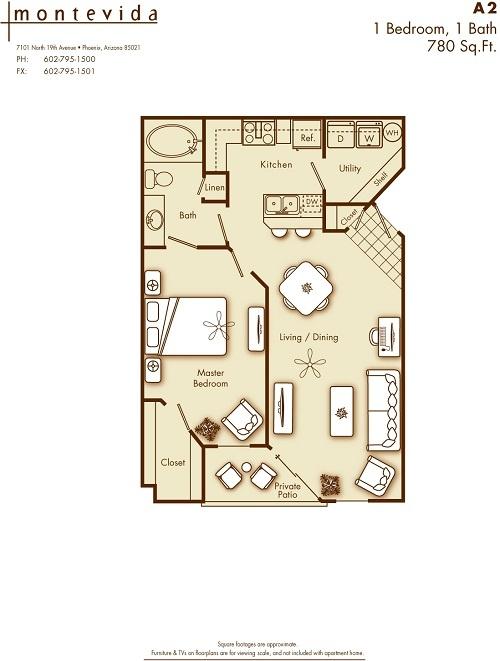 Montevida Apartment Homes Phoenix Az