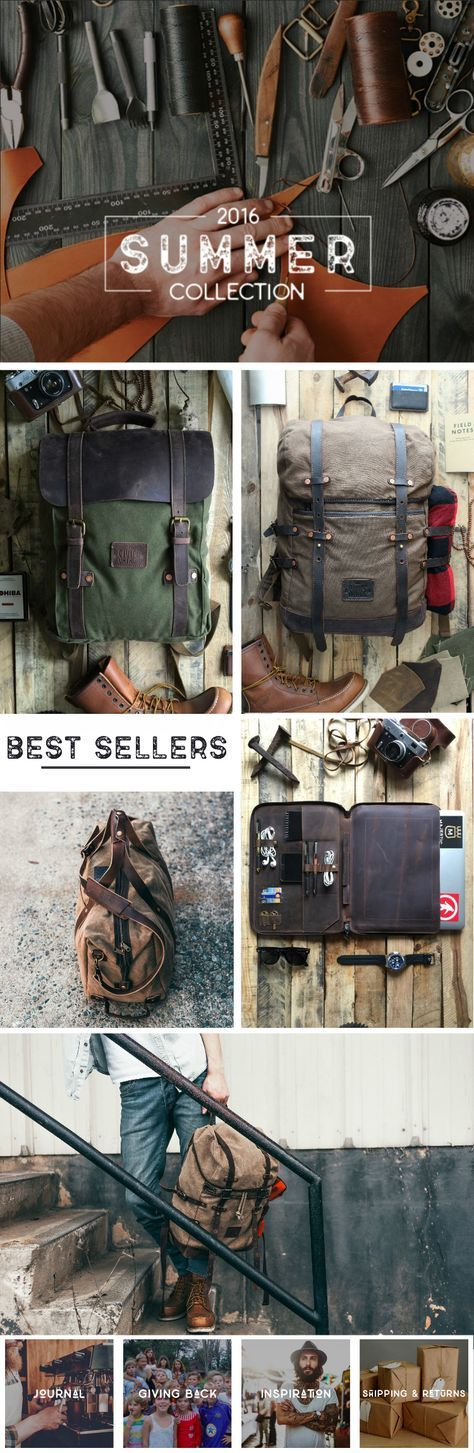 Adventure gear made by guys for guys!