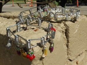 clothes pin bracelet