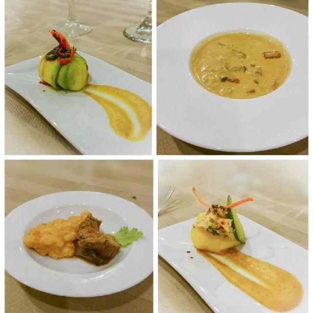 Causas limeñas de pollo y pescado, Chupe de camarones y Lomo saltado con Risotto de quinoa  te esperan en el festital Perú, tierra de tesoros gastronomicos en el Café Cacique  del Hotel Tamanaco