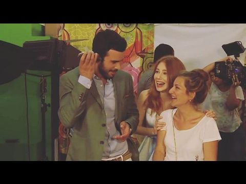 Elçin Sangu & Barış Arduç ❤️ The first interview they gave for the serie...