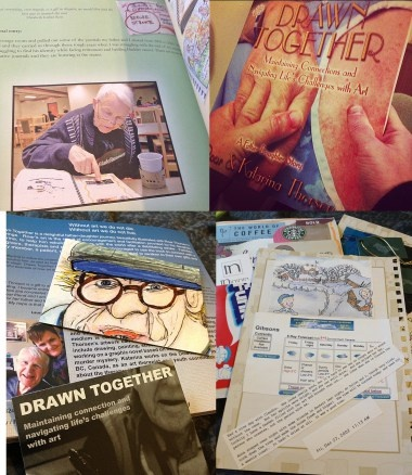Legacy Making: Drawn Together | Drawn Together is Kat and Roar's touching story about their relationship as daughter and father and how the power of art and the creative process can provide meaning, affirmation, and connection in the face of life changing illness and loss.