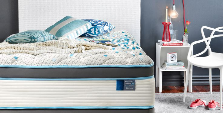 Comfort Gel beds provide medically proven relief from aches and pains caused by pressure points when sleeping.