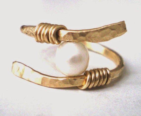 ESPECIAL DIY anillo de perla