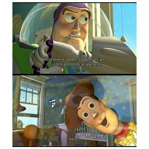 One Of The Best Part In The First Movie Toy Story 1 Disney Funny Disney Quotes Funny Toy Story Movie