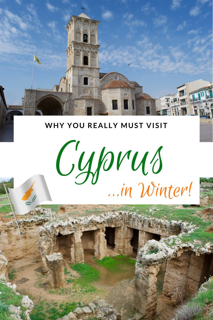 Cyprus is a popular summer destination, but what it is like in winter? If you like sunshine, pleasant temperatures and the chance to explore in peace, Cyprus  in winter might just be perfect!  #cyprus #cyprustravel #larnaca #pafos #paphos Cyprus travel