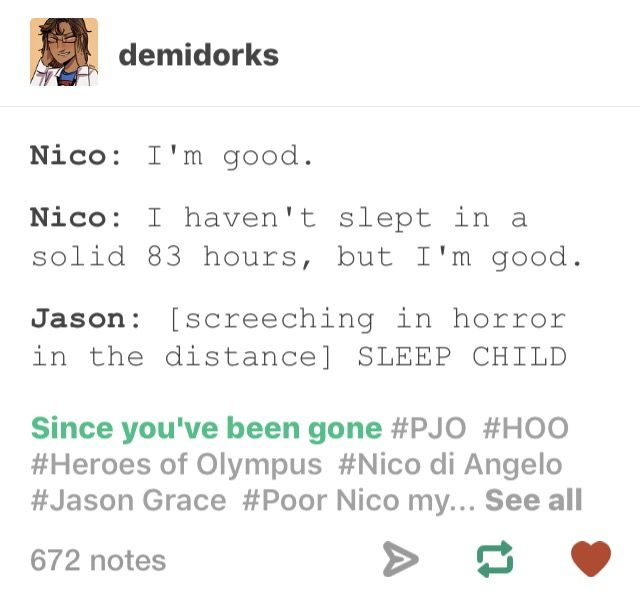 And then Jason drags Nico to Will and Solangeloooooo