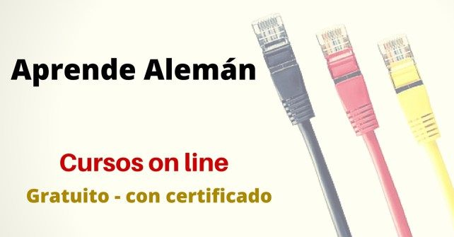 Aprende Alemán on line - Gratuito y con certificado