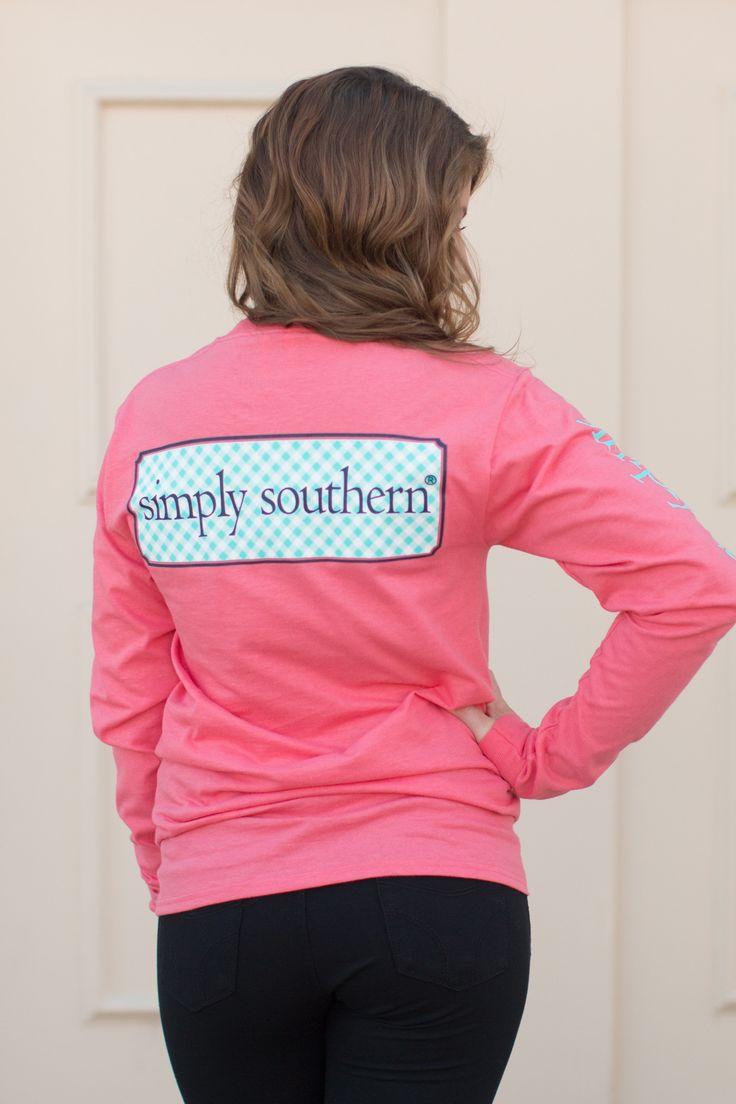 Simply Southern Long Sleeve Logo Tee