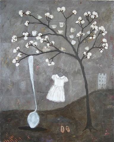 rebecca rebouche. Cotton Tree. great piece.