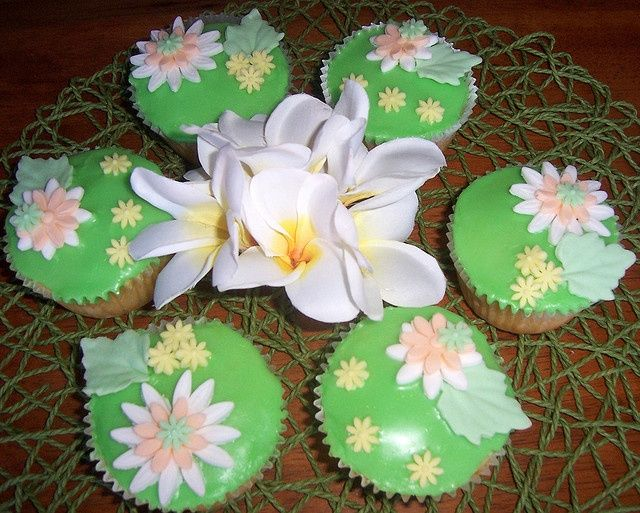 Cupcakes recept met Ananas en Kokos