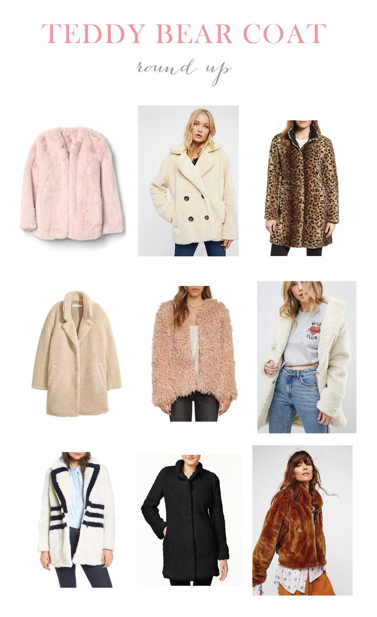 I've been living in my teddy bear and faux fur coats lately! I can not get enough of this cozy trend!    #fashionblogger #styletrend #teddybearcoat #fauxfurcoat #winterstyle