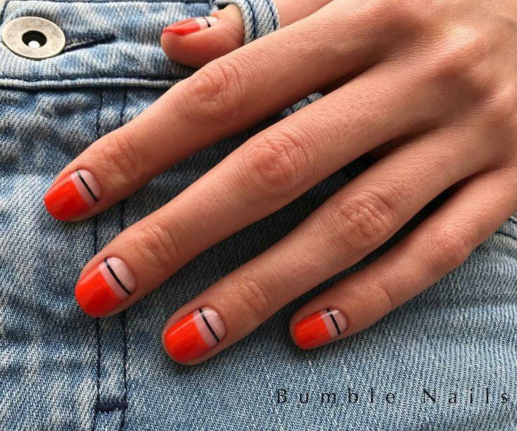 Minimalist nail design   #nailart #naildesign #beauty