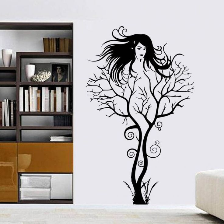 Marvelous Find More Wall Stickers Information About Fashion Creative Sexy Girl Tree Removable  Wall Sticker Decal Home Part 19