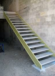 Image result for prefabricated stair treads and risers