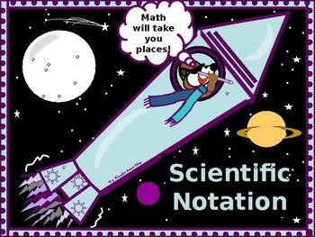 * The following lesson covering Scientific Notation includes discussion and examples over writing numbers in decimal notation from scientific notation. * The lesson offers instruction and examples over writing numbers in scientific notation from decimal notation. *