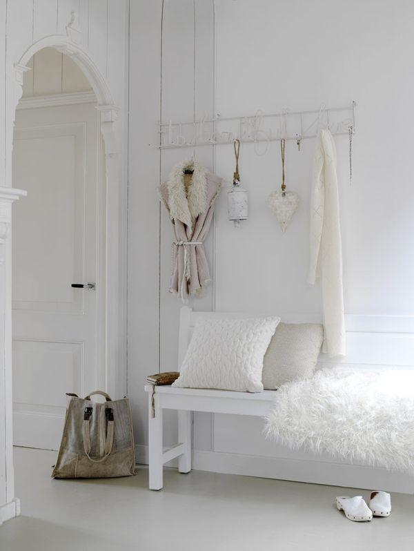 14 elegantes recibidores de estilo femenino