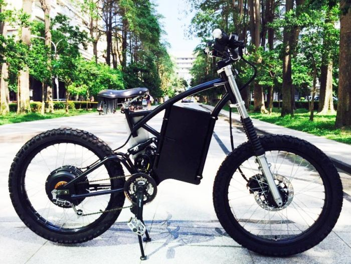 20kw Electric Bike Top Speed 150km H Bicykle