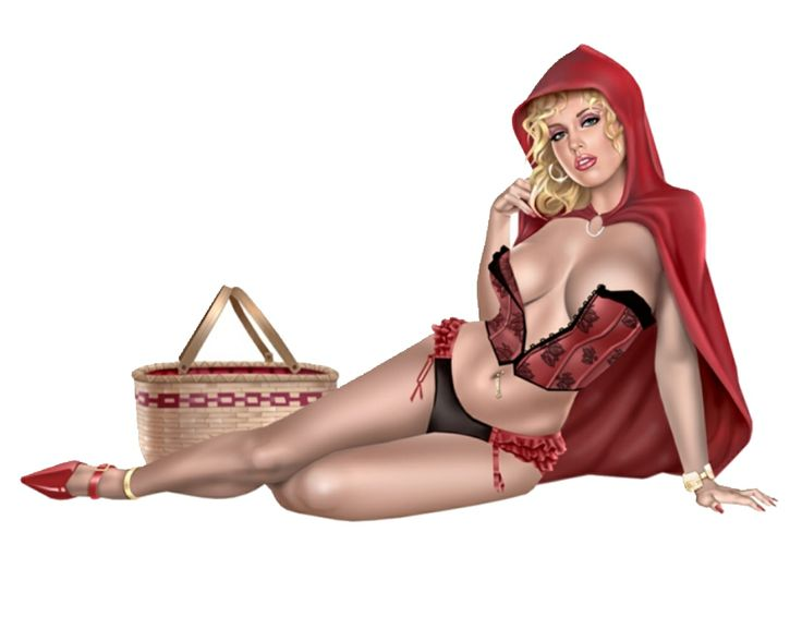 Red Riding HoodLittle Girls, Lil Red, Sexy Art, Little Red, Fantasy Art, Keith Garvey, Redridinghood, Red Riding Hoods, Pinup
