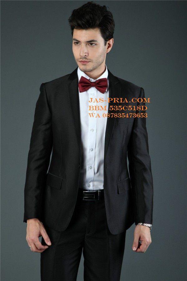 jas pria murah warna hitam modelnya sederhana tapi tetep trendi kualitas terjamin mutunya harganya murah cocok dipakai ke acara resmi dijual online di Solo