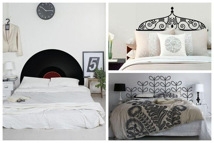 adesivo de cabeceira cama de casal decoração 3   – Móveis Planejados