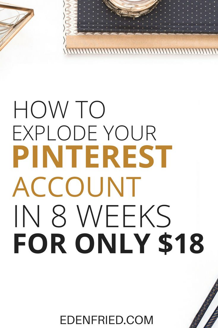 You don't need to break the bank on expensive Pinterest solutions to explode your Pinterest account. Learn how to gain at least 700 new followers (engaged followers) in less than 8 weeks.